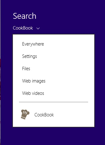 cookbok search 0