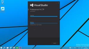 visual studio 14 in Windows 10